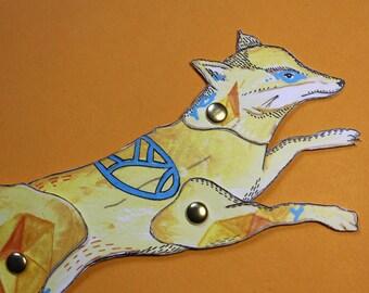 Paper doll renard
