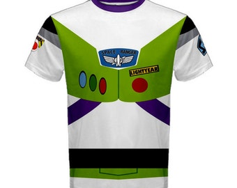 Men's Buzz Lightyear Toy Story Inspired ATHLETIC Shirt