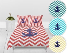 Unique Anchor Duvet Cover Related Items Etsy