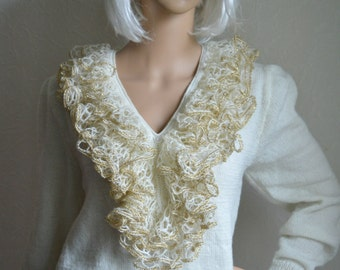 Hand knitted women sweater