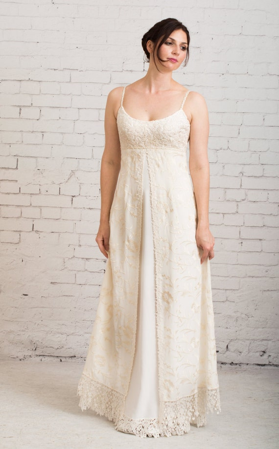 casual backyard wedding dresses items similar to simple wedding dress backyard wedding 27831