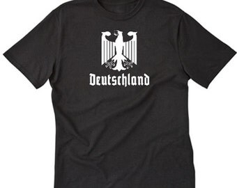 Deutschland T-shirt Germany German Eagle Bundesadler Tee Shirt