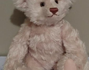 "Steiff 16"" Teddy Rose Replica 1925 Bear With Center Seam  0171/41 1987-89 LE 10,000"