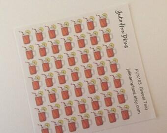Southern Sweet Tea (49 Stickers)(DEC-102)