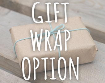 Gift Wrap Option.Eco Friendly Gift Wrap.Gift Wrapping.Gift Wrap Service,