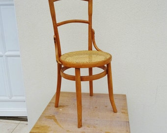 "Superb Baumann Fischel Thonet Chair circa 1920 stamped ""Zouaves SO"" and signs of label/illuminati10"