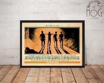 A Clockwork Orange - Stanley KUBRICK - Quote Retro Poster - Movie Legends Series
