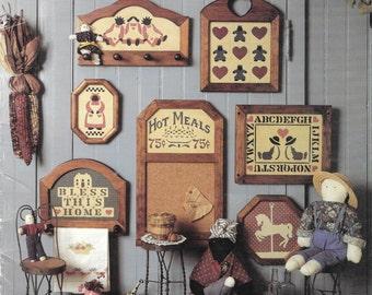 Scherenschnitte, The Ole Fashion Collection, Scissors Paper Cutting Book, Primitive Designs, Country Folk Designs, Amish Alphabet, Vintage