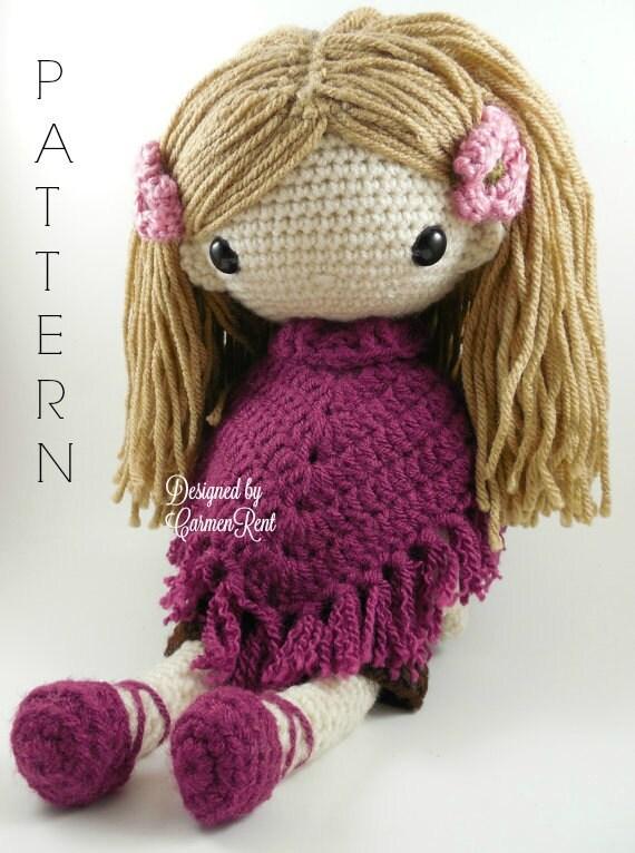 Lydia Amigurumi Doll Crochet Pattern PDF