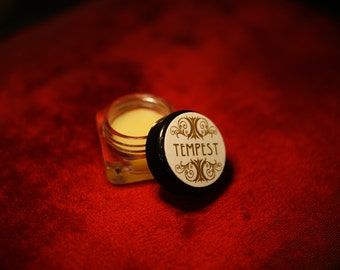 natural solid Perfume - TEMPEST - unisex perfume - essential oil perfume natural - organic natural perfume oil