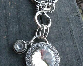 Diamond Bling Bullet Key Chain