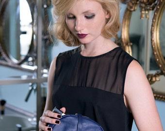 Makeup Case, Leather Makeup Case, Travel Case, Travel Pouch, Leather Pouch Bag, Small Leather Pouch, Leather Cosmetic Bag, Cosmetic Bag