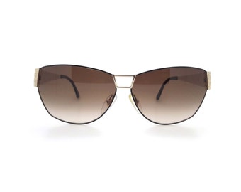 Genuine 1990s Christian Dior 2761 Vintage Sunglasses with Gold Arms // New Old Stock // Made in Austria