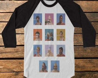 "Mike Tyson's Punchout ""VS"" Baseball Tee Raglan Shirt"