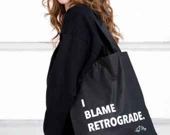 Zodiac Bag / Astrology Bag / Zodiac Tote Bag / Astrology Tote  / Mercury Retrograde Bag / Retrograde Purse / Zodiac Purse / Astrology Purse