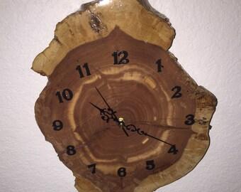 CedarWood Handcrafted Wall Clock