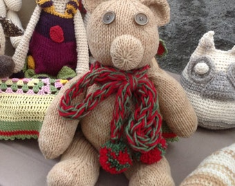 Teddy  Bear - pupazzo - stuffed animal - soft Toy - stuffed Toy -