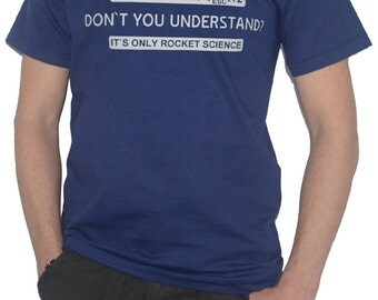 Its Only Rocket Science Equation T-Shirt - Aerospace Spacecraft Space Maths