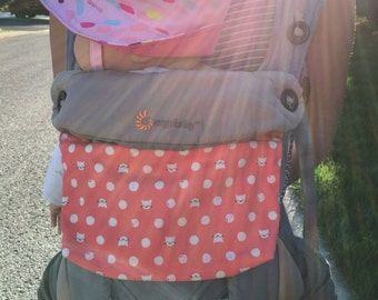 Ergo 360 sleek zipper pouch / purse / pocket / bag - Pick your fabric