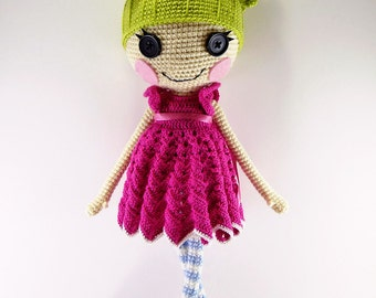 Doll Joyeuse Lalaloopsy in dress pink