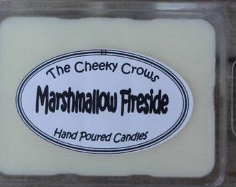 Soy Melts, Marshmallow Wax Melts, Marshmallow Tarts, Wax Melts, Marshmallow Fireside Melts, Campfire Treat Melts, Scented Melts, Soy Tarts