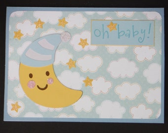 Oh Baby! - New Baby Greeting Card