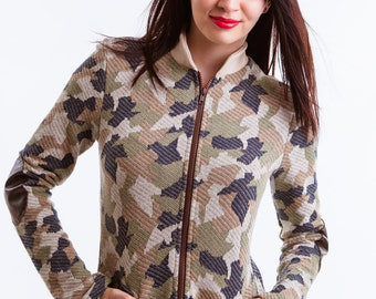 Jacket Army (Camouflage)