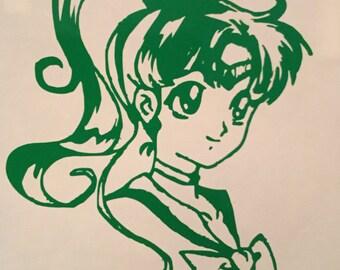 Sailor Moon: Sailor Jupiter Decal