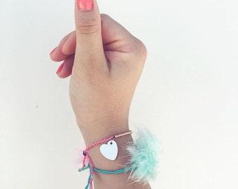 Fuzzy bracelet