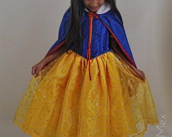 Snow White Princess Dress / Princess Snow White Costume / Snow White Princess Girl Dress/ Snow White Princess Birthday Dress/Girls Dresses