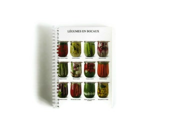 Mason Jars Recipes Notebook, Spiral Bound Writing Journal, Recipe Book, Blank Sketchbook, A6, Diary, Pocket Travel 4x6 Inches Gifts Under 15