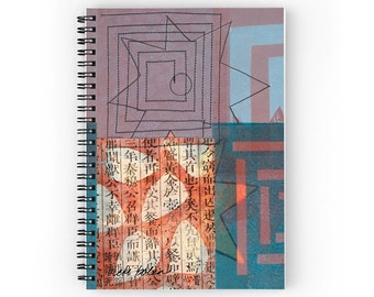 Spiral Notepad, Life Writing Journal, Supplies for Back to School, College Gift, Art Student Gifts, Notebook Journal, Travel Journal