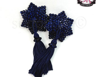 7-Point Star Shaped Rhinestone Nipple Pasties - SugarKitty Couture