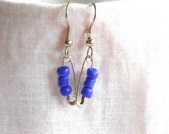 Blue Friendship Earrings