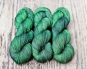 Yaksime - Olive - Colour Adventures (fibers: superwash merino, yak, silk)