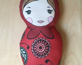Matryoshka Darlings: Ruby