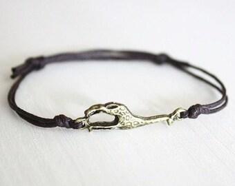 Giraffe Bracelet or Anklet, Antique Brass Bracelet, Bronze Bracelet, Animal Bracelet, Animal Lover Gift, Gift For a Child, BFF, Friend Gift
