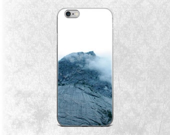 Mountain iPhone Case, Minimalist Galaxy S7 Case, iPhone 7 Case, iPhone 6S, Cloudy Mountain iPhone 6 Plus Case, Nature iPhone Case, iPhone 5S