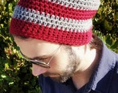 Striped hat-Beanie-Skullcap-All sizes available