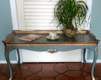 Blue Coffee Table 1940s