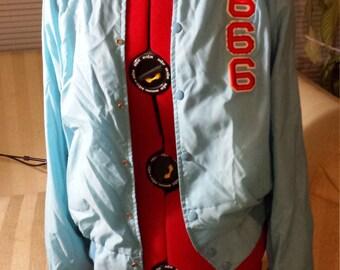 Varsity Witch Bubblegum Jacket windbreaker pastel goth 666 satanic 90s diy club kid