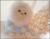 Handmade Snow Baby Plush