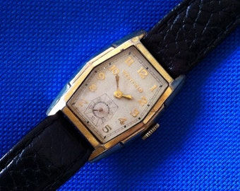 "Vintage Men's Watch, ""Trojan"" 1939 Westfield by Bulova 