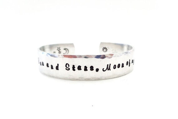 Personalized Secret Message Cuff Bracelet, Affirmation Jewelry, Engraved, Customizable, By Timeless Maiden. Ready to Ship
