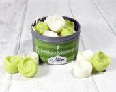 Soy Wax Melts: Melon Medley, tin of 12 luxury soy wax tarts, handmade, unisex gift, mothers day gift