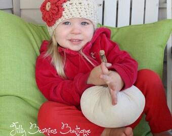 Girl Hats, Baby Hats, Baby Girl Hats, Kids Hats, Girl Flower Hats, Girl Beanies,  Baby Girl Beanies, Baby Beanies
