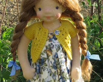 Waldorf doll Tania  - 17,5'' Waldorf inspired doll