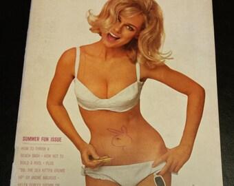 Vintage 1964 July Issue of Playboy Magazine