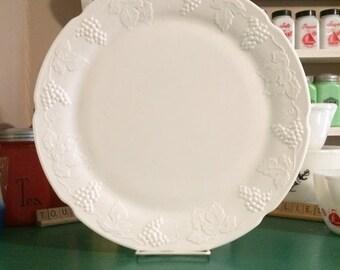 Indiana Glass Harvest Grape Platter