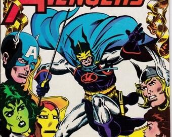 Avengers #225 November 1982 Issue - Marvel Comics - Grade Fine
